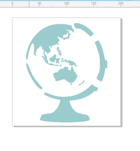 World Stencil 200 x 200mm min buy 3